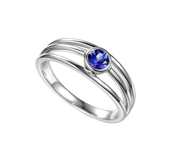 Amore Lonely Planet tanzanite ring 8541WTZ