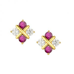 amore-9ct-yellow-gold-diamond-and-ruby-serenity-earrings-9184r