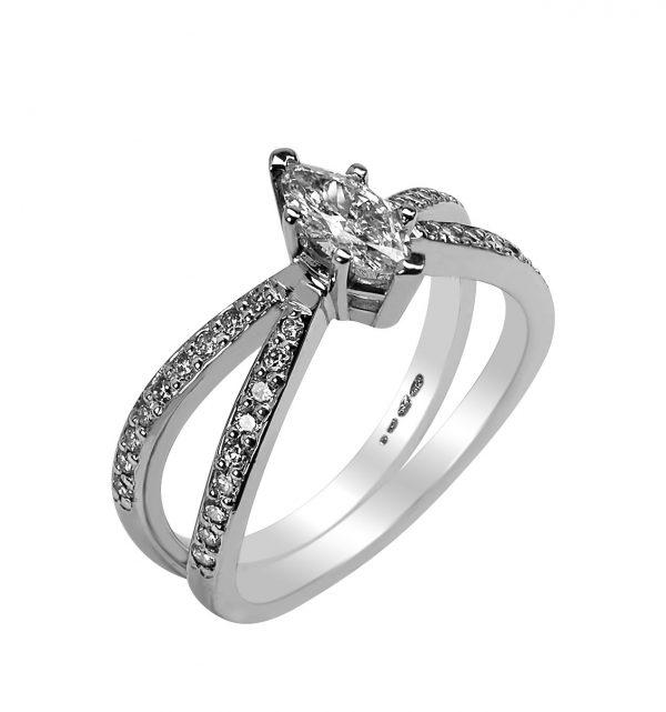 Janet Isherwood Jewellery diamond ring JIR014