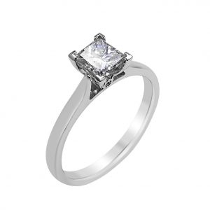 Janet Isherwood Jewellery platinum diamomd ring. JIR015