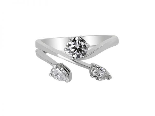 Janet Isherwood Jewellery platinum diamond ring. JIR020